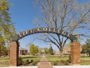 Tift College in Forsyth